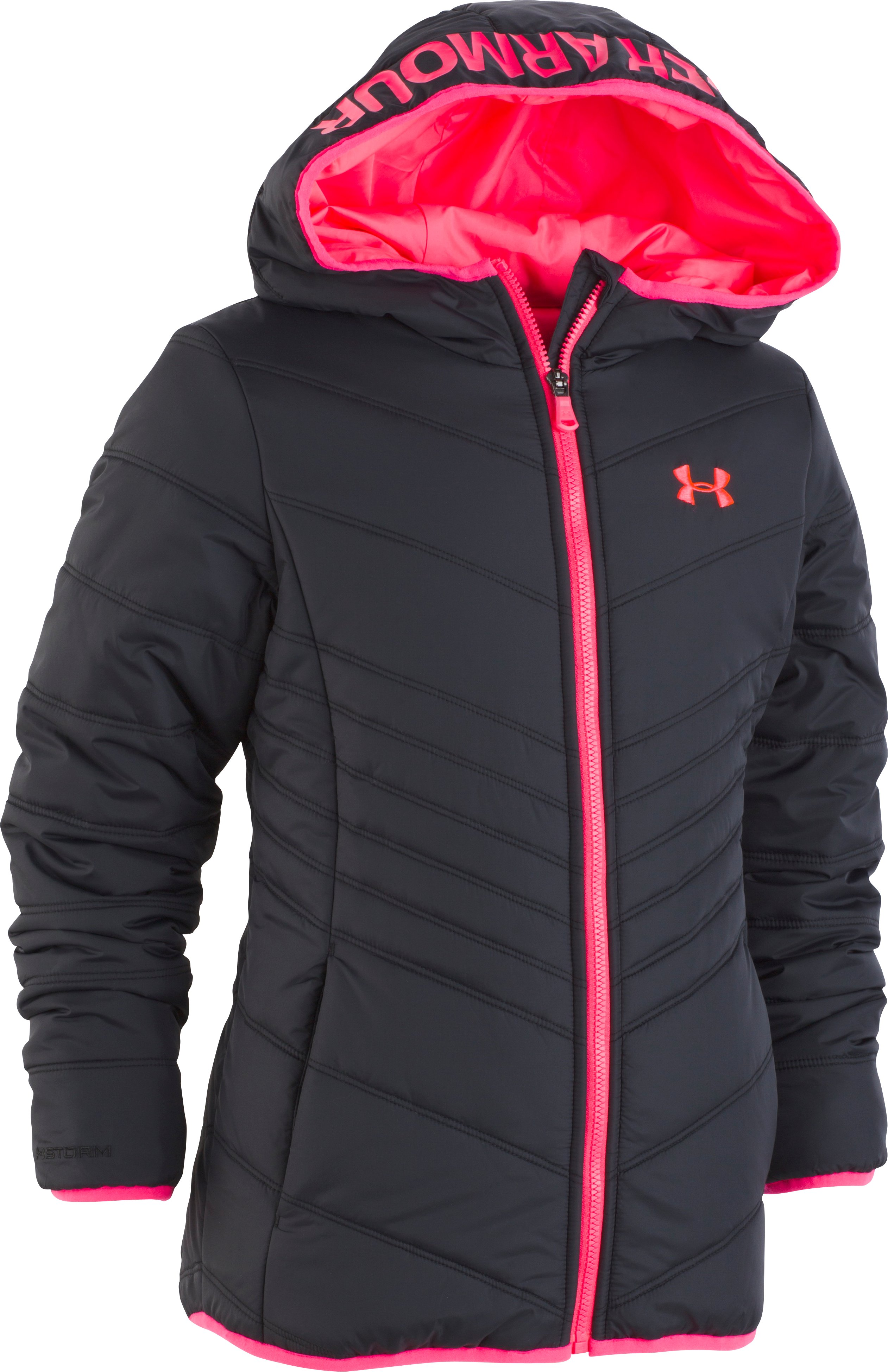Girls' Pre-School UA Prime Jacket  4 Colors $62.00