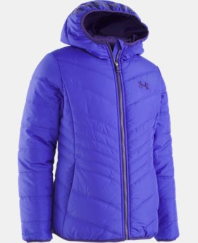 New Arrival Girls' Pre-School UA Prime Jacket   4  Colors Available $62