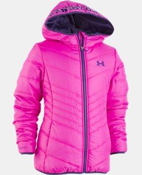 Girls' Pre-School UA Prime Jacket   2  Colors Available $73