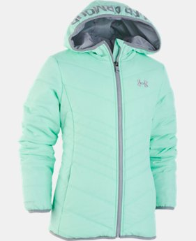 New Arrival Girls' Pre-School UA Prime Jacket   1  Color Available $62