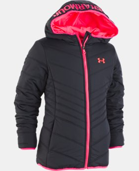 New Arrival Girls' Toddler UA Prime Jacket   1  Color Available $62