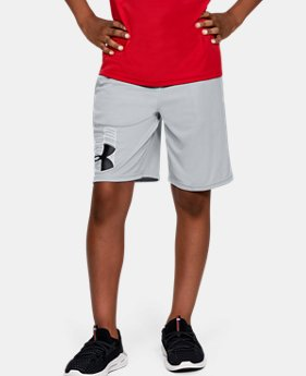 b9c7286f5 Boys' UA Prototype Logo Shorts 1 Color Available $20