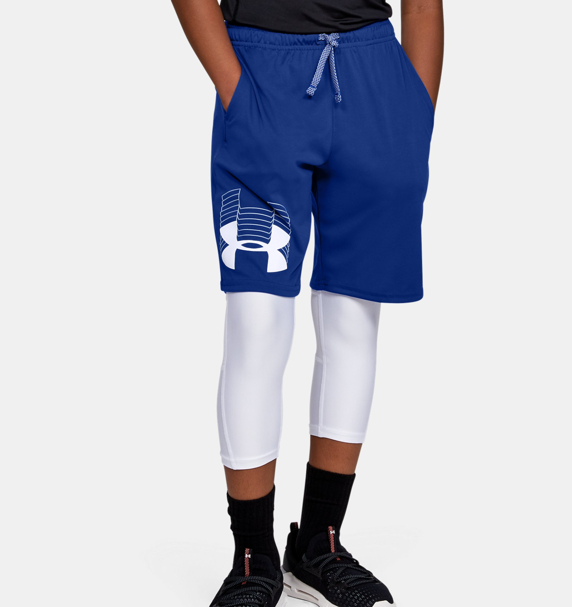 Boys' UA Prototype Logo Shorts $8.50