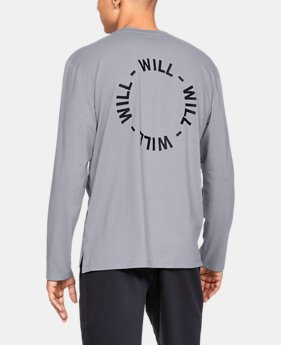 UA Exclusives Men's UA Be Seen Long Sleeve Graphic  2  Colors Available $40