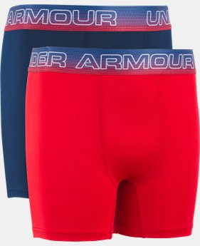 New Arrival Boys' UA Original Series Americana Boxerjock® 2-Pack  1  Color Available $19.99