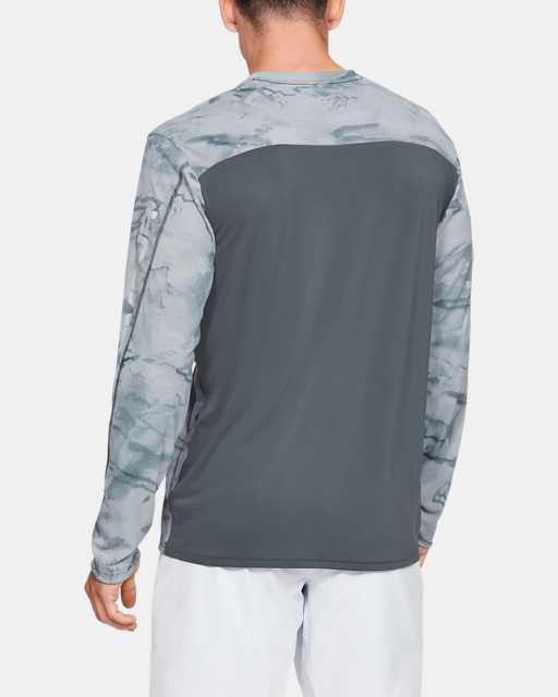 Men's UA Iso-Chill Shore Break Camo Crew