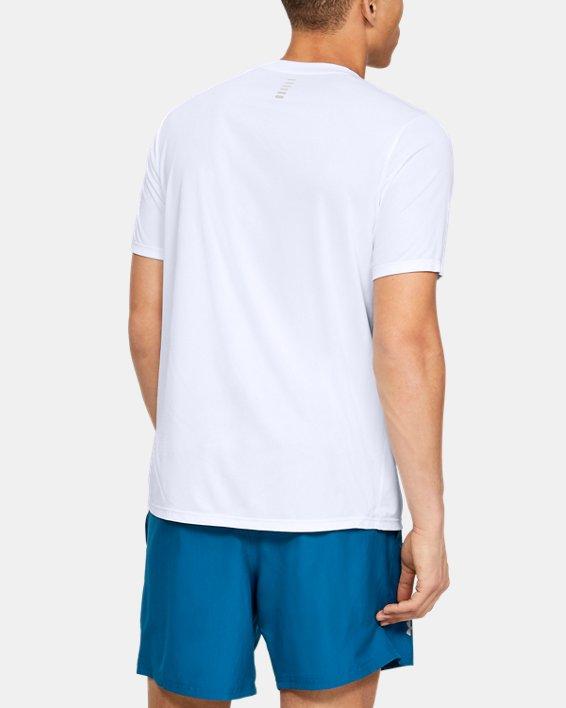 Men's UA International Run Day GX T-Shirt, White, pdpMainDesktop image number 2