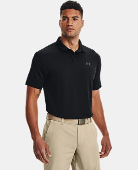 b9af80d410 Men's Black Golf Polo Shirts | Under Armour US