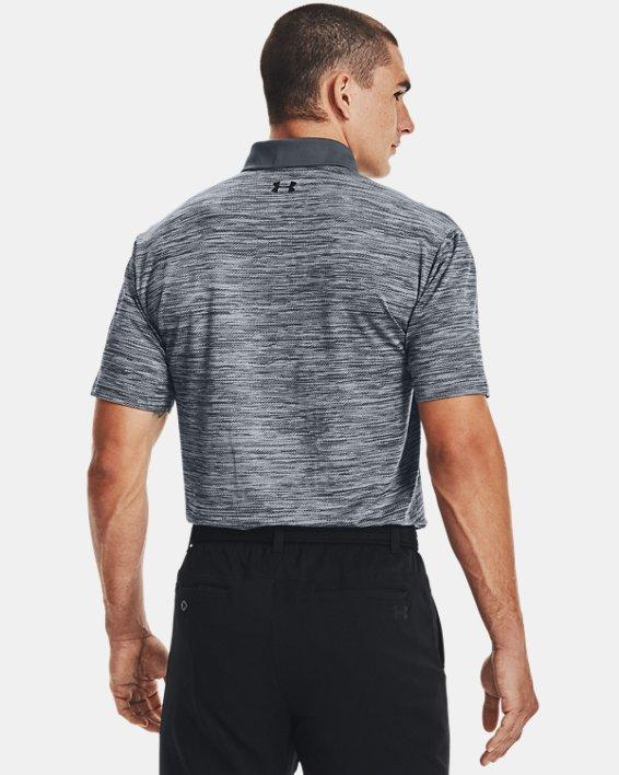 Men's UA Performance Polo Textured, Gray, pdpMainDesktop image number 2