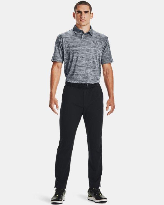 Men's UA Performance Polo Textured, Gray, pdpMainDesktop image number 5
