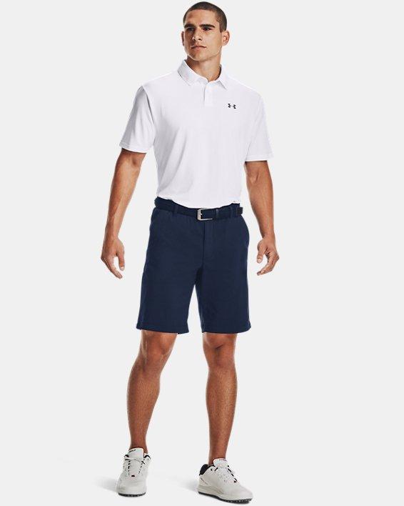 Men's UA Performance Polo Textured, White, pdpMainDesktop image number 5