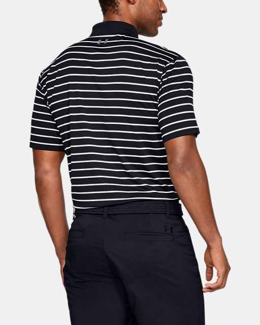 Men's UA Performance Polo Textured Stripe