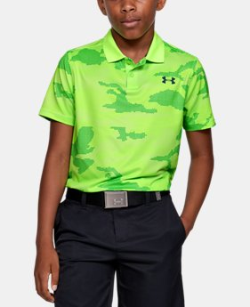 42299673be Boys' Green Polo Shirts | Under Armour US