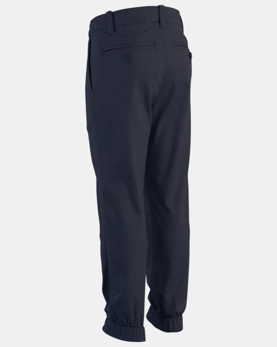 Boys' UA Uniform Slim Fit Jogger Pants, Blue, pdpMainDesktop image number 1
