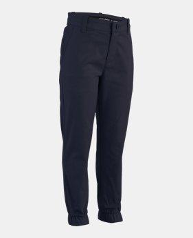 677a1d05 Boys' Pre-School UA Uniform Slim Fit Joggers 2 Colors Available $46