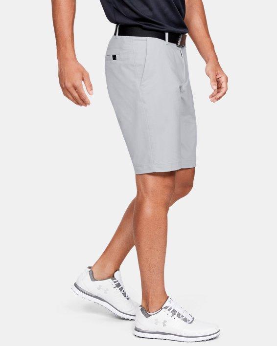 Herren UA EU Performance Shorts mit schmal zulaufendem Bein, Gray, pdpMainDesktop image number 3