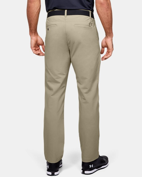 Men's UA Match Play Pants, Brown, pdpMainDesktop image number 2