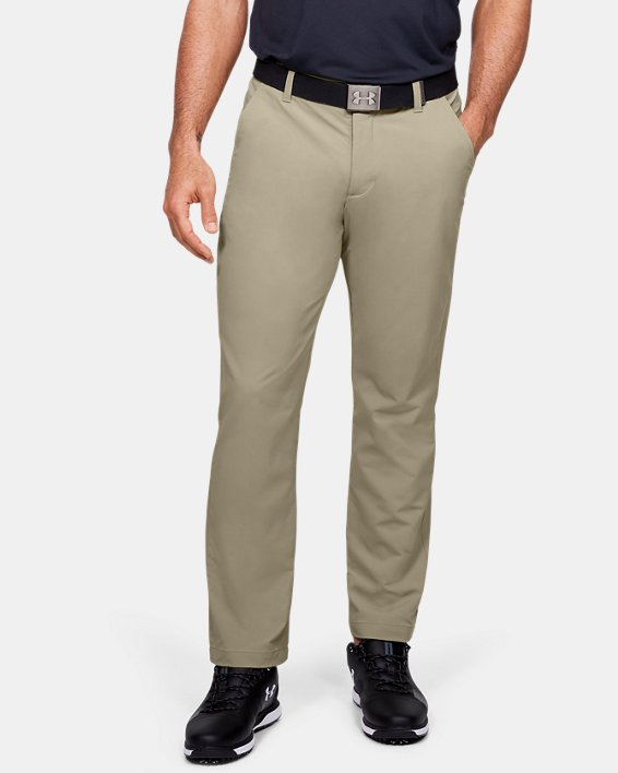 Men's UA Match Play Pants, Brown, pdpMainDesktop image number 0