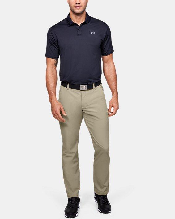 Men's UA Match Play Pants, Brown, pdpMainDesktop image number 1