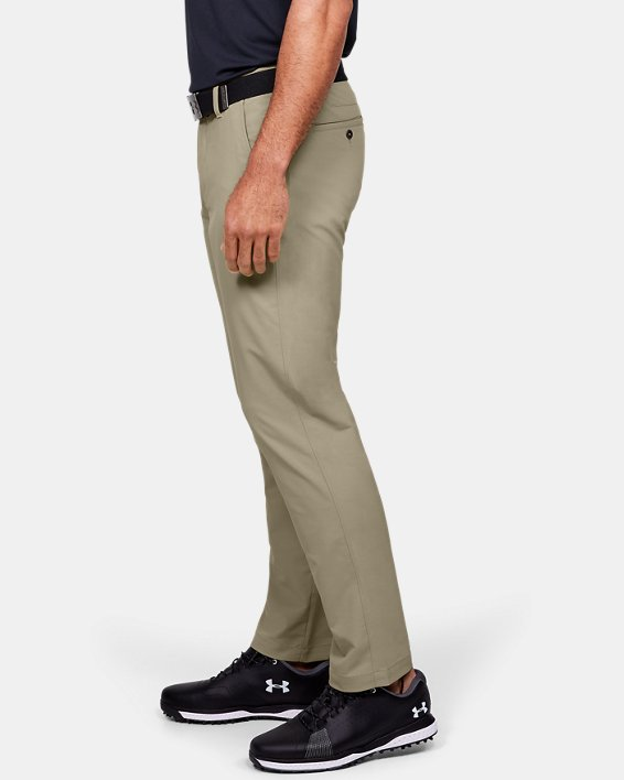 Men's UA Match Play Pants, Brown, pdpMainDesktop image number 3