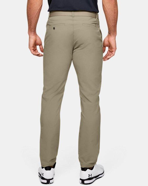 Men's UA Match Play Tapered Pants, Brown, pdpMainDesktop image number 2