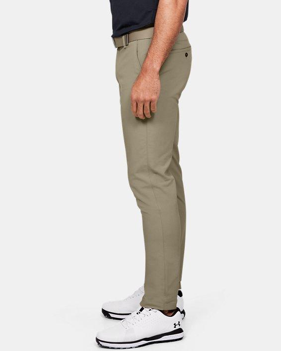 Men's UA Match Play Tapered Pants, Brown, pdpMainDesktop image number 3