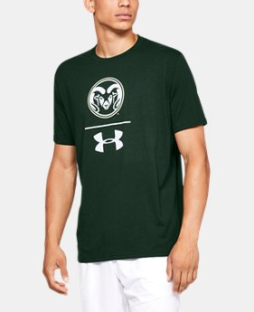 New Arrival Men's Charged Cotton® Collegiate Short Sleeve T-Shirt  2  Colors Available $32