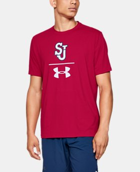 Men's Charged Cotton® Collegiate Short Sleeve T-Shirt  1  Color Available $22.4