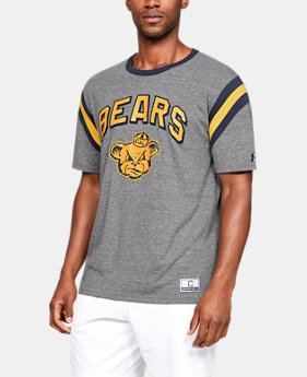 Men's UA Iconic Stripe Collegiate Short Sleeve Shirt  4  Colors Available $50