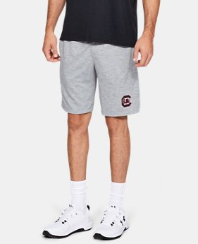 New Arrival Men's UA Phantom Fleece Collegiate Shorts  1  Color Available $50