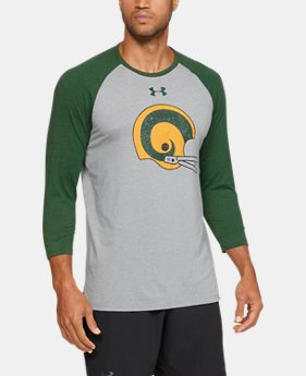 New Arrival Men's UA Collegiate T-Shirt  1  Color Available $40