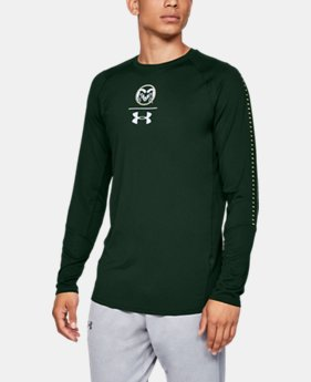 New Arrival Men's UA MK-1 Collegiate Long Sleeve   1  Color Available $50