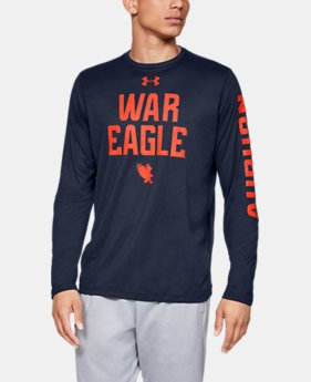 New Arrival Men's UA Tech™ Collegiate Long Sleeve  1  Color Available $40