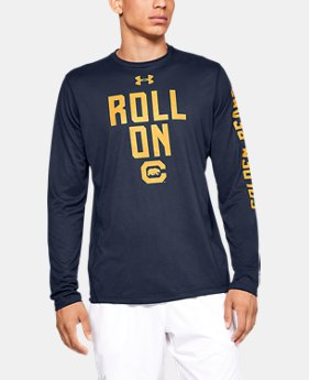 New Arrival Men's UA Tech™ Collegiate Long Sleeve  5  Colors Available $40