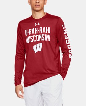 New Arrival Men's UA Tech™ Collegiate Long Sleeve  6  Colors Available $40