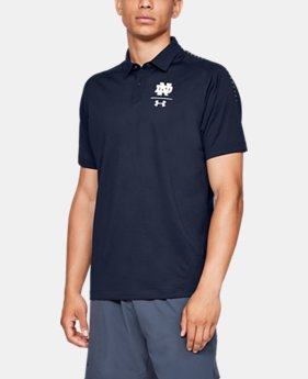 New Arrival Men's UA Pinnacle Polo Collegiate  4  Colors Available $85