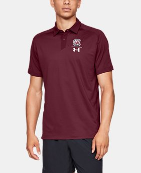 New Arrival Men's UA Pinnacle Polo Collegiate  1  Color Available $85