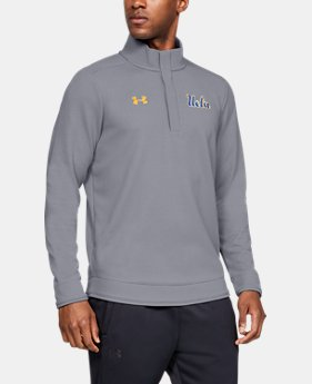 New Arrival Men's UA Knit ¼ Snap Collegiate  2  Colors Available $80