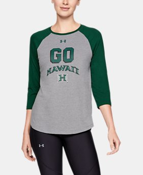 Women's Charged Cotton® Baseball Collegiate T-Shirt  2  Colors Available $40