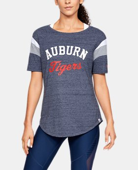 New Arrival Women's UA Iconic Neppy FB Collegiate T-Shirt  1  Color Available $55