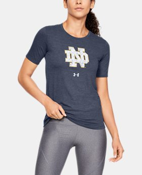 New Arrival Women's UA Tri-Blend Collegiate Short Sleeve Shirt  3  Colors Available $35
