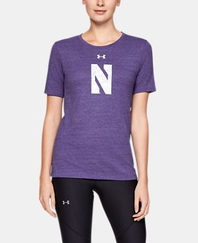 Women's UA Tri-Blend Collegiate Short Sleeve Shirt  1  Color Available $24.5