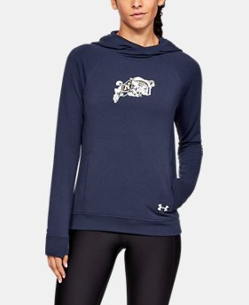 New Arrival Women's UA Featherweight Collegiate Hoodie  4  Colors Available $75
