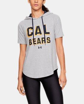553825a54bdea6 Women s UA Tri-Blend Collegiate Short Sleeve Hoodie 1 Color Available  55