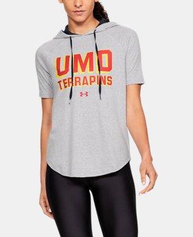Women s UA Tri-Blend Collegiate Short Sleeve Hoodie 1 Color Available  41.99 d6bce3984