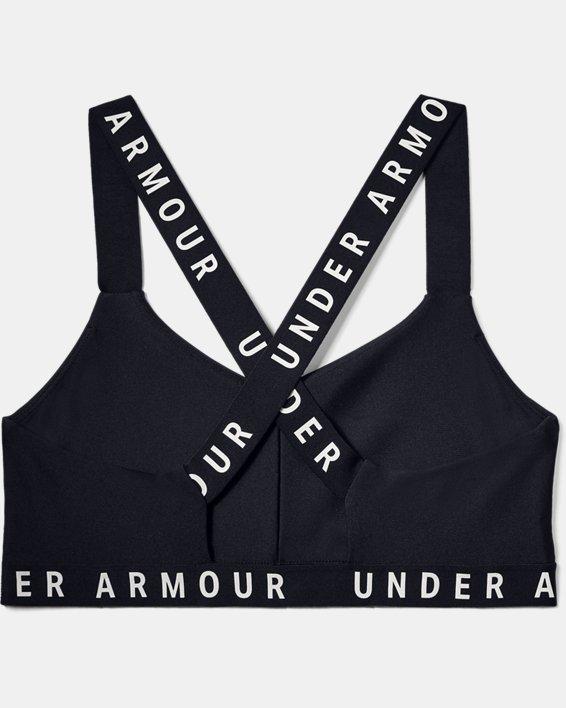 Women's UA Wordmark Strappy Solid Sportlette, Black, pdpMainDesktop image number 3
