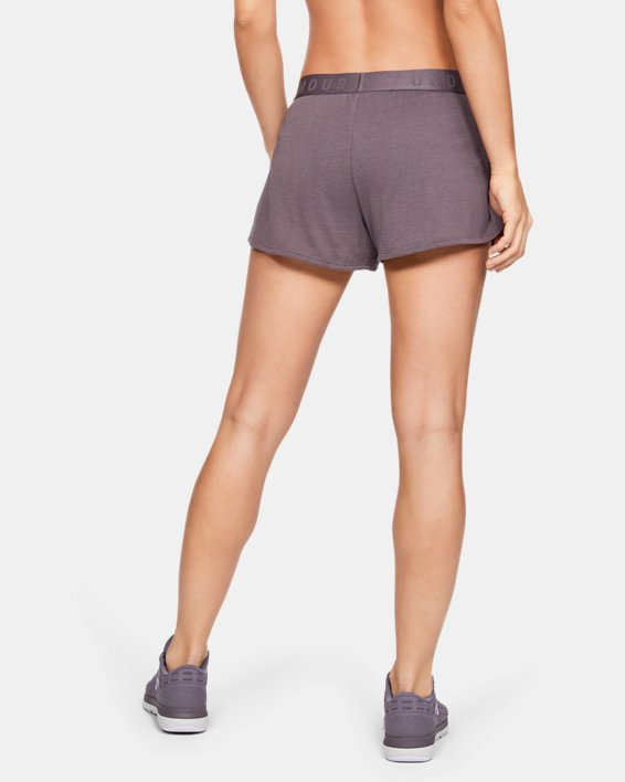 Women's UA Mesh Around Shorts, Gray, pdpMainDesktop image number 2