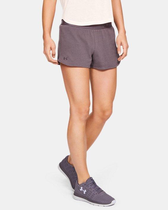 Women's UA Mesh Around Shorts, Gray, pdpMainDesktop image number 0