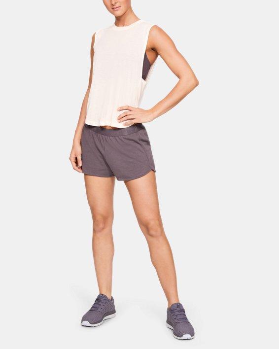 Women's UA Mesh Around Shorts, Gray, pdpMainDesktop image number 1