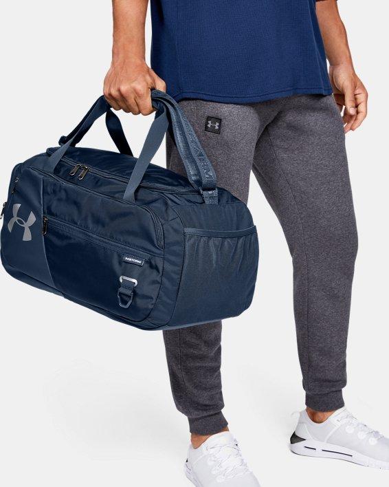 UA Undeniable 4.0 Small Duffle Bag, Navy, pdpMainDesktop image number 0